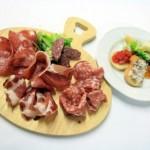 Tagliere di salumi del buttero d.o.p con pecorini e sapori toscani