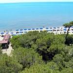 Panoramica spiaggia Riva del Sole Toscana
