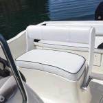 Foto interna della barca open Vespucci 5,50 metri