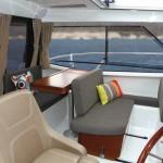 Fotografia interno barca Vespucci