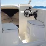 Foto interno di barca cabin fish Vespucci 5,70 barca da pesca